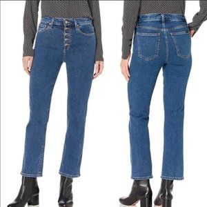 Joe's Jeans Callie High Rise Cropped Bootcut Jeans